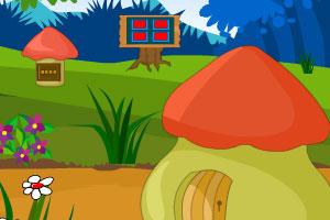 《逃离蘑菇花园小屋》游戏画面1