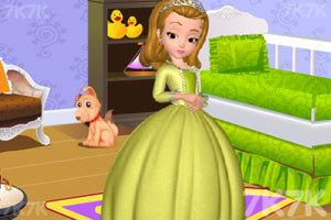 《安贝儿公主布置房间》游戏画面2