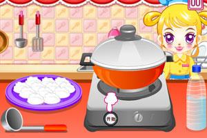 《阿sue包饺子》游戏画面2