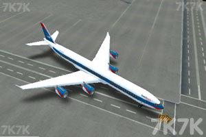 《3D客机停靠》游戏画面2