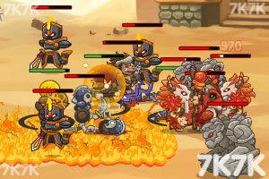 《骑士神话2中文无敌版》游戏画面1
