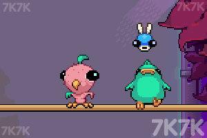 《肥鸭吃虫子》游戏画面2