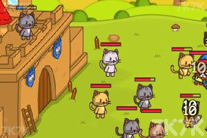 《猫咪背水一战》游戏画面2
