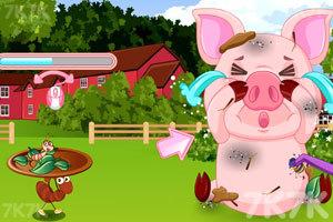 《脏兮兮的小猪》游戏画面1