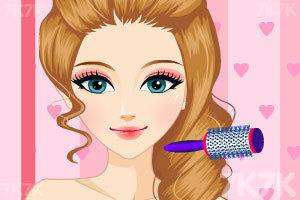 《漂亮新娘的新发型》游戏画面3