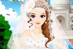 《漂亮新娘的新发型》游戏画面1