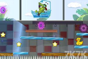 《小鳄鱼吃鸭子3》游戏画面1