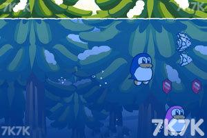 《企鹅爱吃鱼3新大陆无敌版》游戏画面3