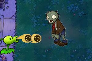 《植物僵尸杀戮无敌版》游戏画面1