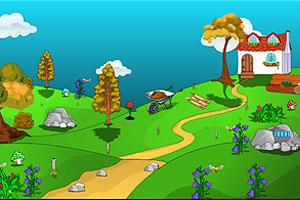 《维护美丽花园》游戏画面1
