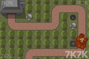《战略防御》游戏画面4
