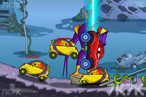 《大车吃小车4》游戏画面4