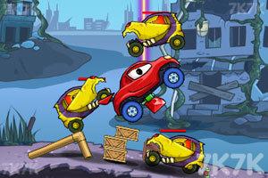 《大车吃小车4》游戏画面2