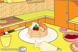 制作水果煎饼