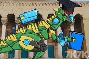 《组装机械拼图》游戏画面1