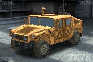 《停靠越野军车》游戏画面4