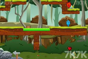 《冰火人侏罗纪探险》游戏画面3