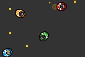 《碰碰车吃金币》游戏画面1