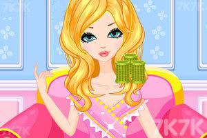 《公主的时尚发型》游戏画面3
