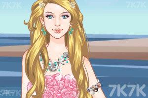 《人鱼公主新发型》游戏画面2