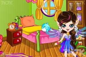 《彩虹精灵房间装饰》游戏画面1