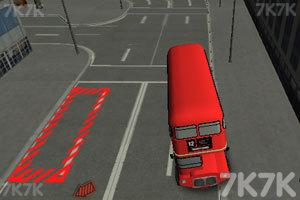 《伦敦双层巴士停车》截图1