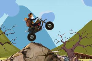 《摩托山野赛车》游戏画面1