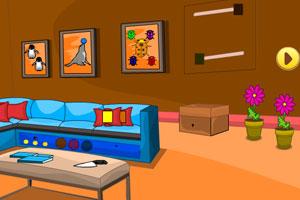 《逃出多彩客厅》游戏画面1