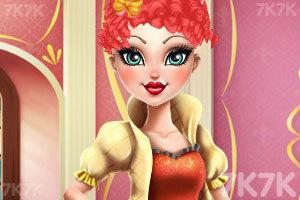 《苹果公主的潮流发型》游戏画面2