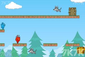 《勇敢的冰火人》游戏画面2