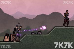 《忍者的宿命中文无敌版》游戏画面2