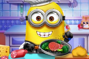 小黄人做饭