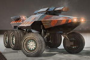 《火星探测车停靠》游戏画面1