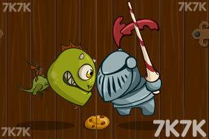 《恐龙鱼大战骑士军团中文版》游戏画面2