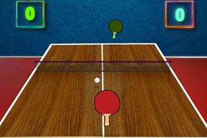 《打乒乓球》游戏画面1