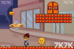 《月饼双侠选关版》游戏画面2