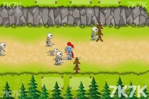 《峡谷防御英雄无敌版》游戏画面1