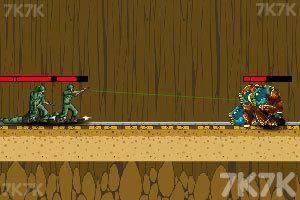 《军事战役之天外来袭》游戏画面2