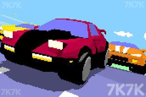《3D复古赛车》游戏画面1
