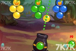 《泡泡历险记选关版》游戏画面3