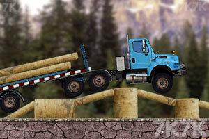 《木材运输车》游戏画面2