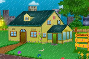 《蜗牛雨中逃亡》游戏画面1