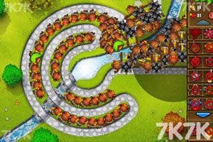 《小猴子守城5万圣节无敌版》游戏画面5