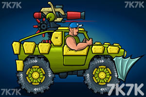 《武装越野车2无敌版》游戏画面5