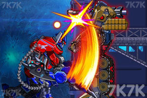 《组装机械坦克战士》游戏画面2