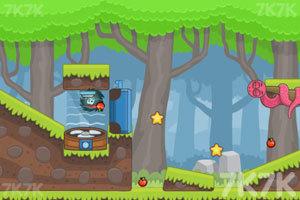 《刺猬果果的苹果乐园2H5版》游戏画面3