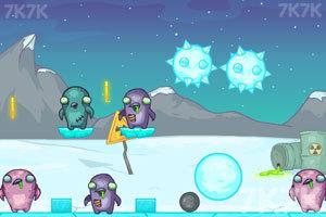 《企鹅战僵尸》游戏画面4