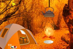 《感恩节火鸡逃离森林》游戏画面1