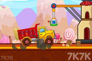 《糖果运输卡车》游戏画面1