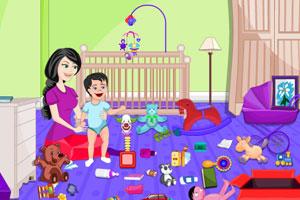 《整理婴儿房》游戏画面1
